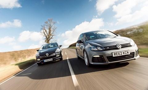 Icon buyer: Clio RS vs Golf R