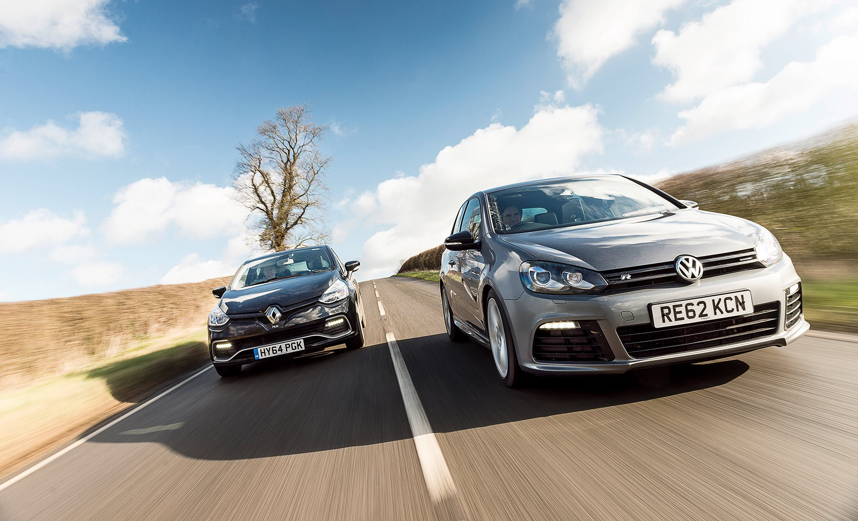 icon buyer new renault clio rs 200 vs used vw golf r mk6