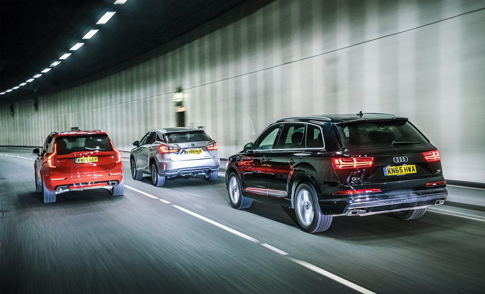 Lexus Vs Audi >> Giant Test Lexus Rx Vs Volvo Xc90 Vs Audi Q7 2016 Car