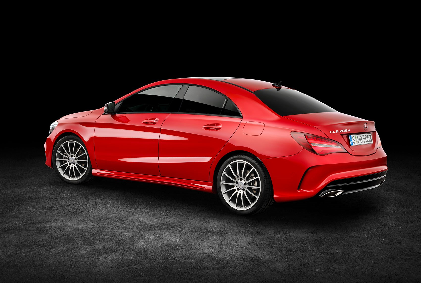 MercedesBenz CLA scrubs up for facelift at New York motor show by