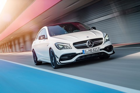 Mercedes-AMG CLA45 4matic 2016 facelift