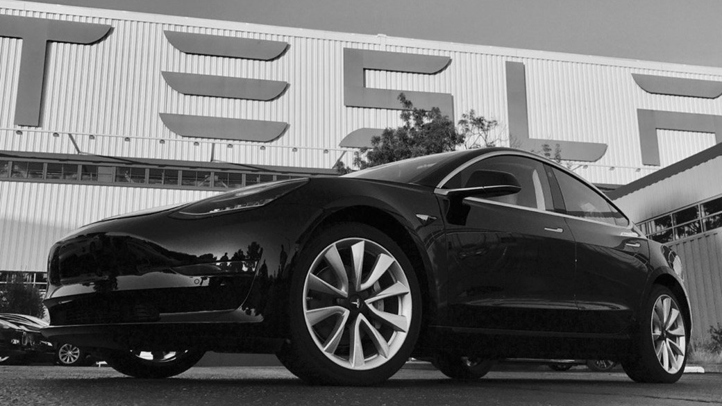 The First Production Tesla Model 3