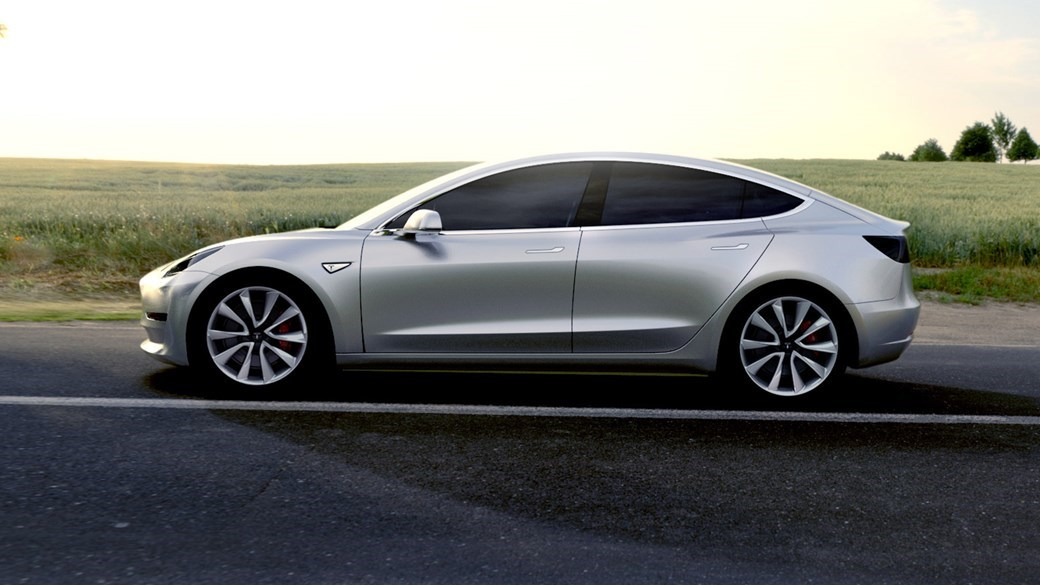 Tesla Model 3 Musk Confirms Ev Saloon Hits 2000 Units A