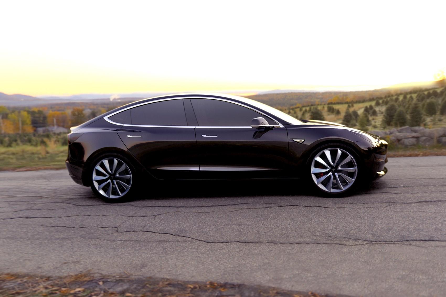 Tesla Model 3 Elon Musk Announces 78 000 Dual Motor M3 Rival By