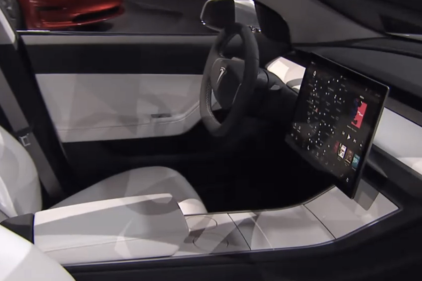 Tesla model 3 specs elon musk 39 s budget ev is faster than for Tesla model 3 interieur