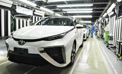 A Toyota that thinks for itself? 'I'm gasping for some hydrogen'