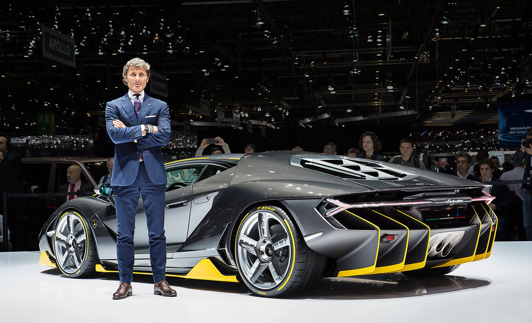 Winkelmann S Parting Gift The Lamborghini Centenario Car April