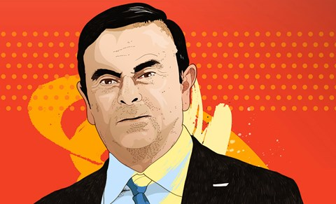 Carlos Ghosn CEO, Renault-Nissan