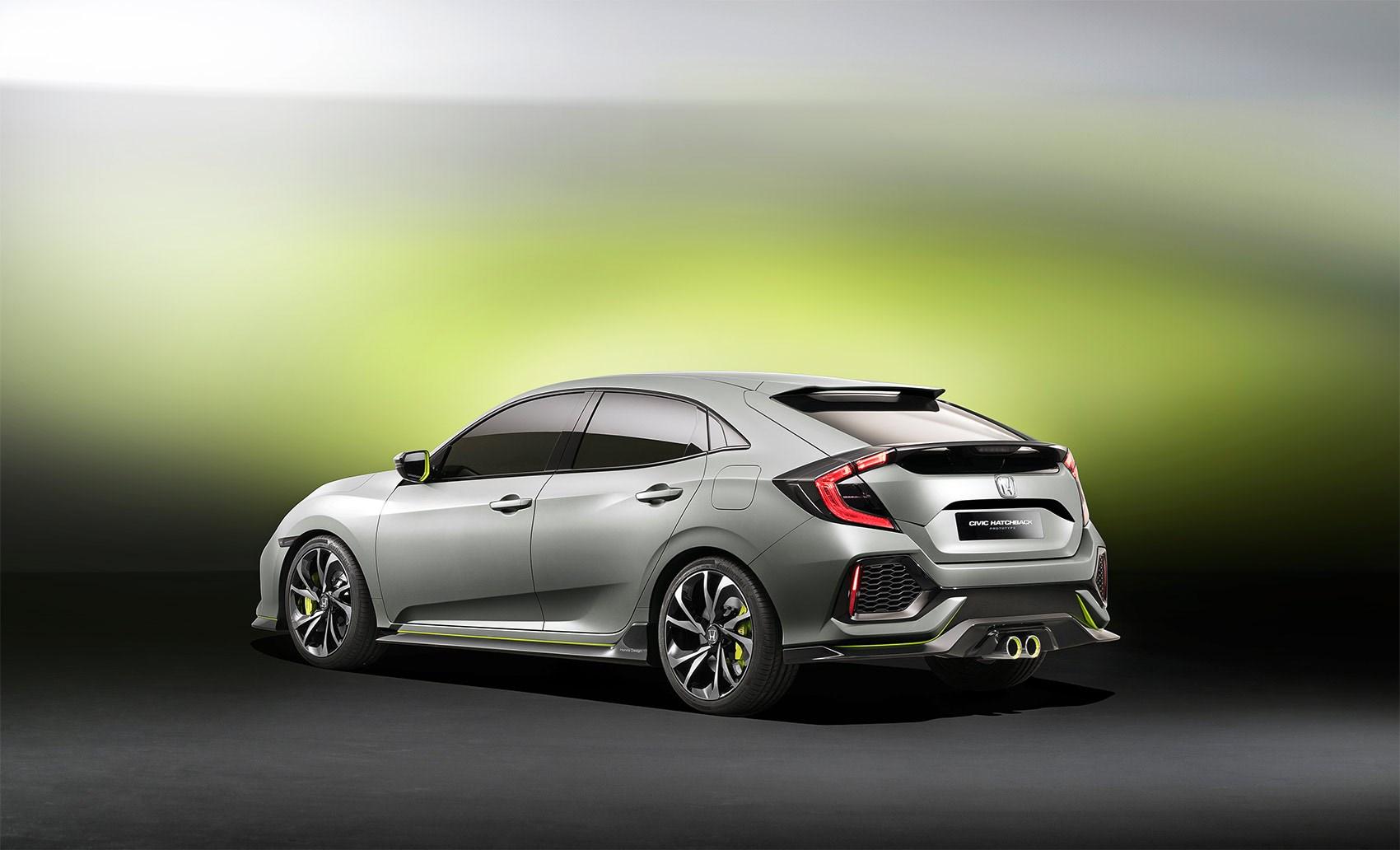 New Car Debrief 10th Gen Honda Civic Prototype Car April 2016