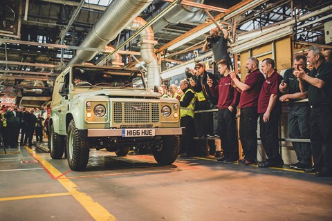 Land Rover Defender long-term test