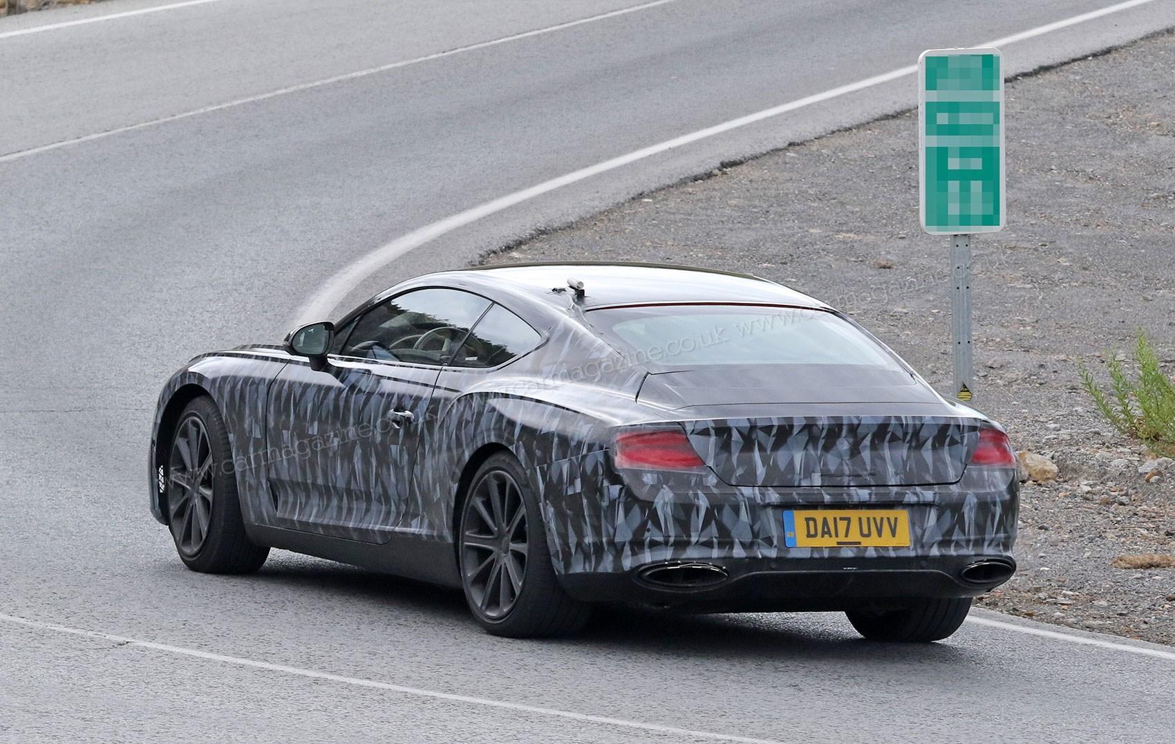 Spy Photos Specs Of New 2018 Bentley Continental Gt Car Magazine