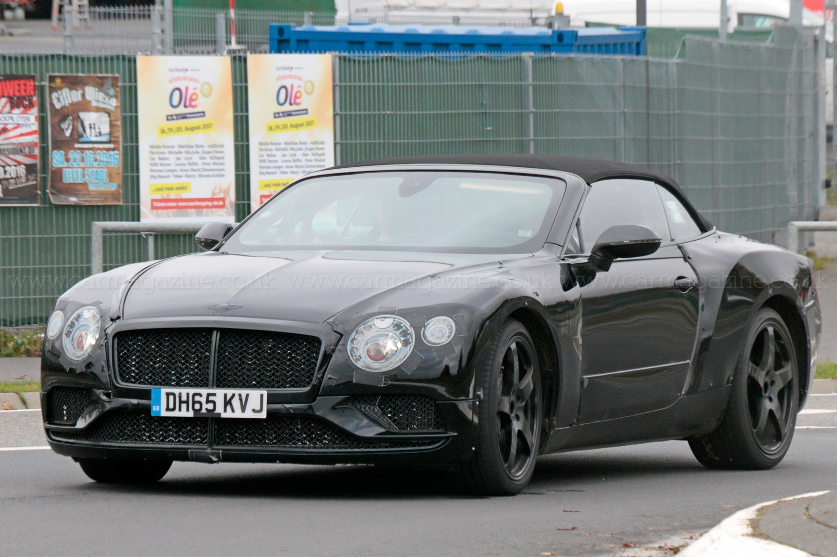 spy photos specs of new 2018 bentley continental gt by car magazine. Black Bedroom Furniture Sets. Home Design Ideas