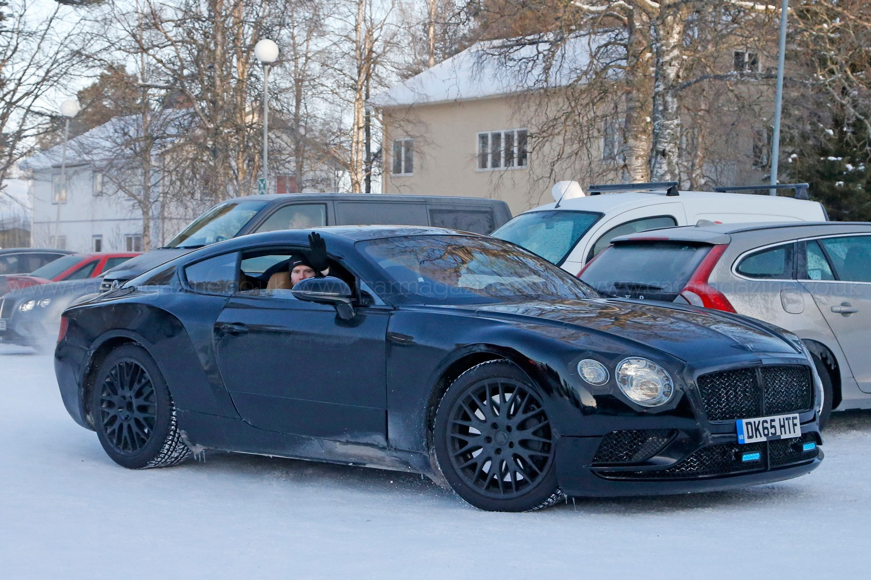 Spy Photos Specs Of New 2018 Bentley Continental Gt By