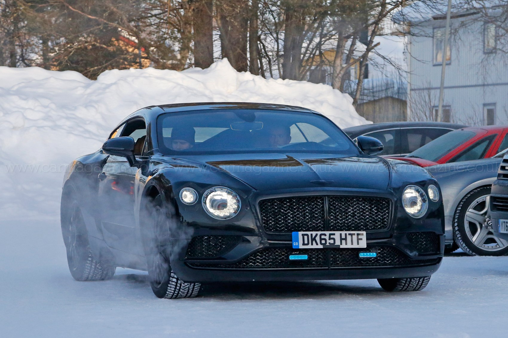 New bentley continental