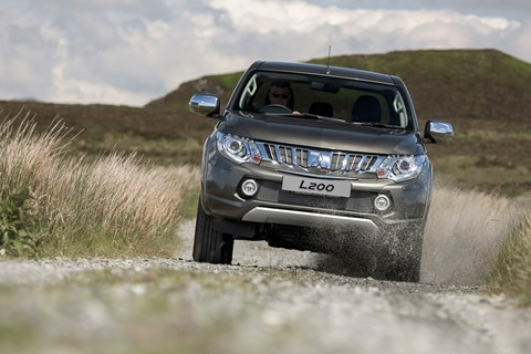 Tough, 'honest' pickups like L200 at the core of the Mitsubishi brand