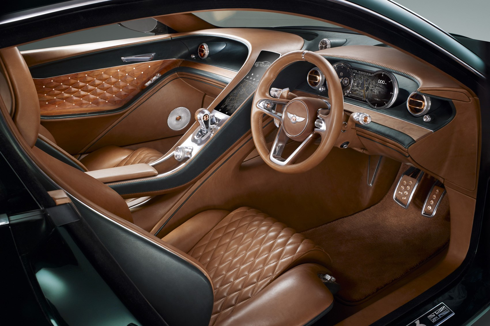 Bentley - Brown Leather
