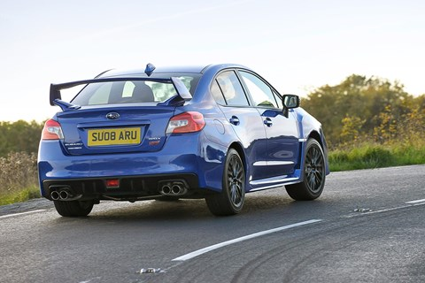 2016 Subaru WRX STI long-term test