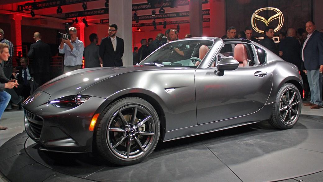 Mazda Puts A Lid On It New Mx 5 Rf Revealed At 2016