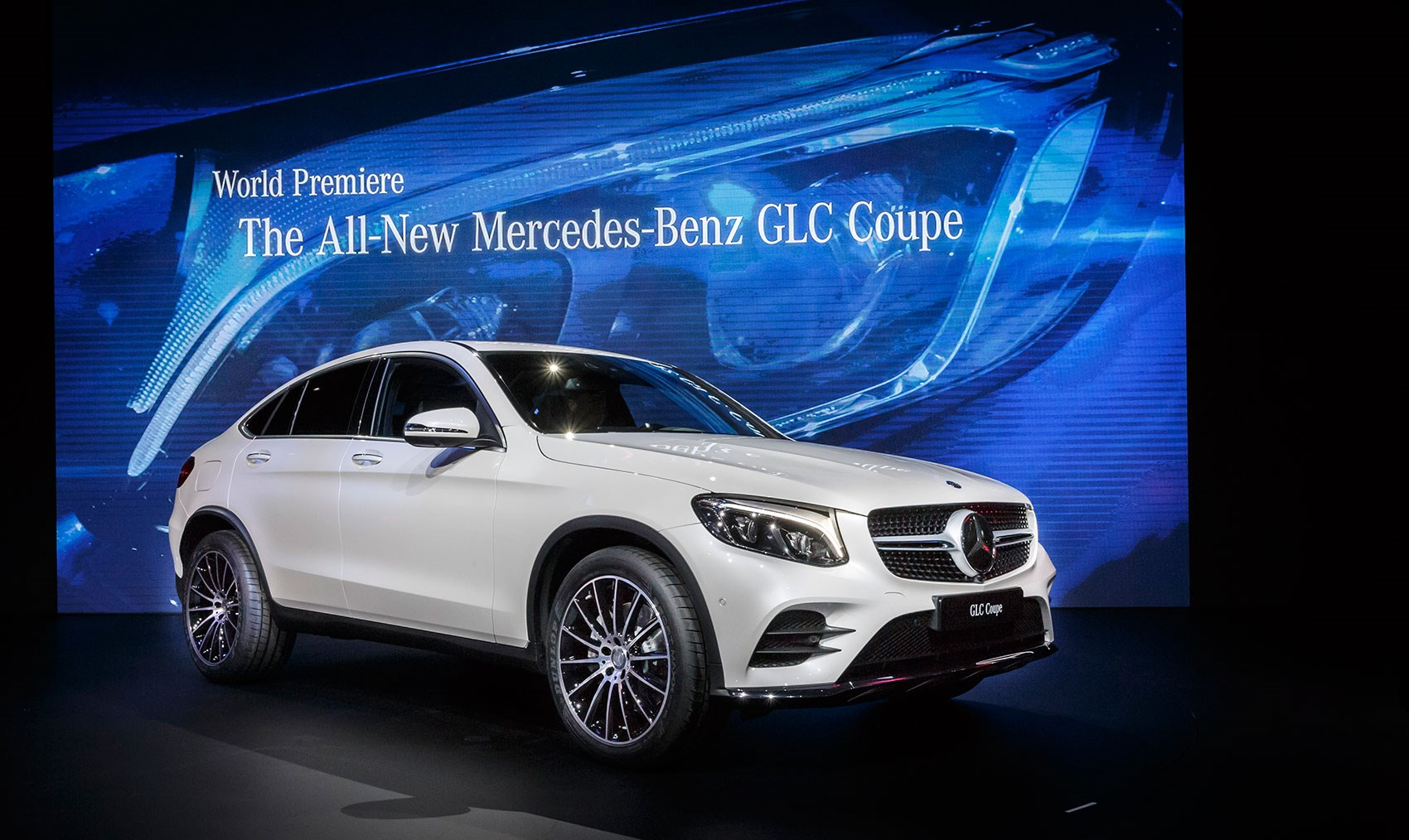 Good New Merc GLC Coupe In New York