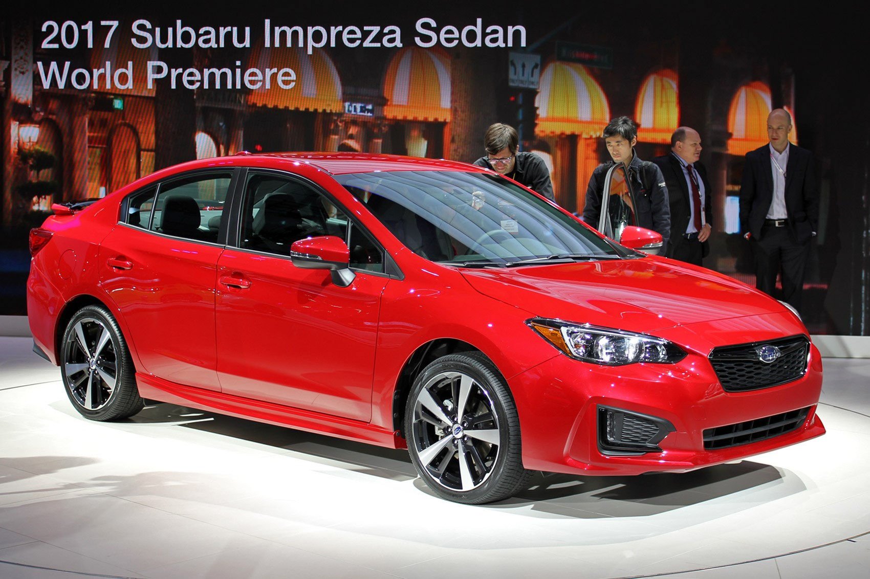 New Subaru Impreza will appear on the market in 2017 10