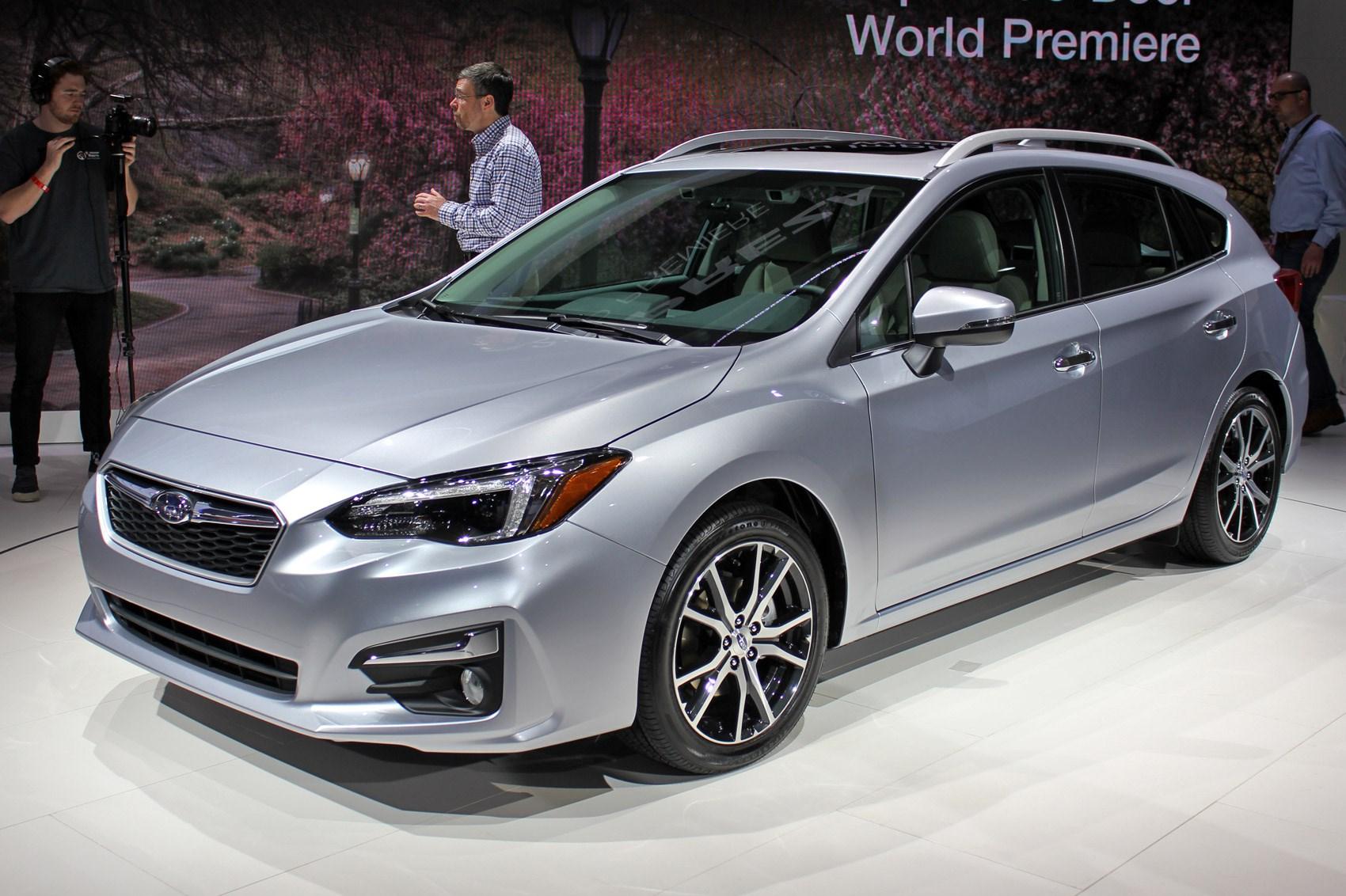 All-new Subaru Impreza: WRX and WRX STI versions in the ...