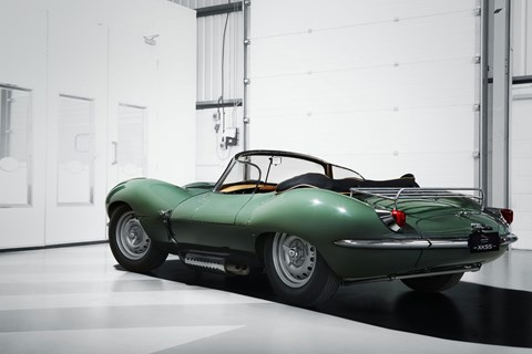 2016 Jaguar XKSS recreation