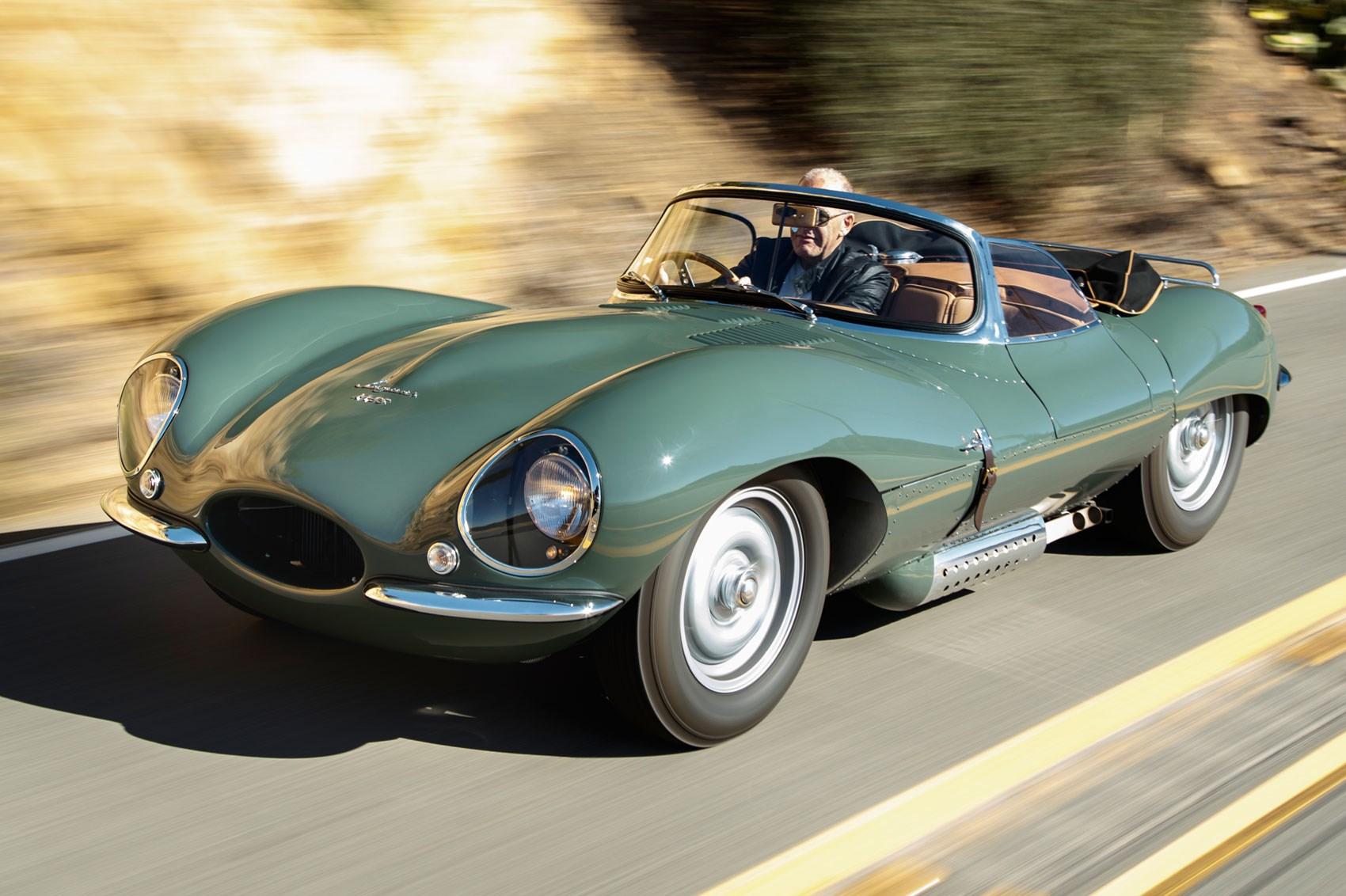 Jaguar Goes Back To The Past Nine New Jaguar Xkss Road