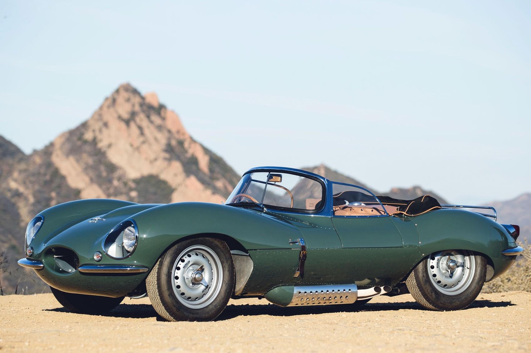 jaguar goes back to the past: nine 'new' jaguar xkss road cars to be