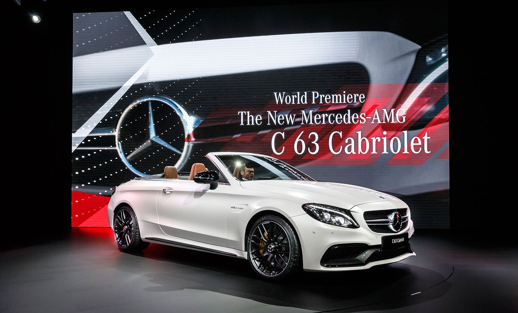 Mercedes amg c63 cabriolet revealed at new york 2016 by for New models of mercedes benz