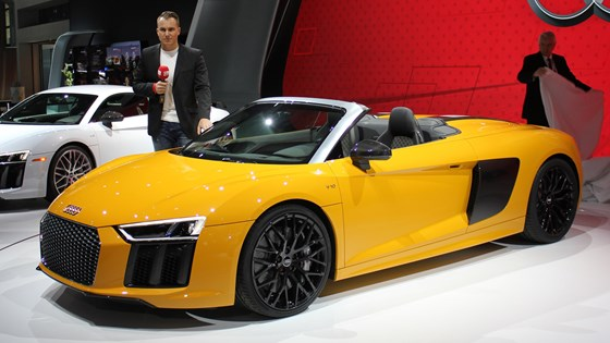 New Audi R8 Spyder Revealed At 2016 York Motor Show