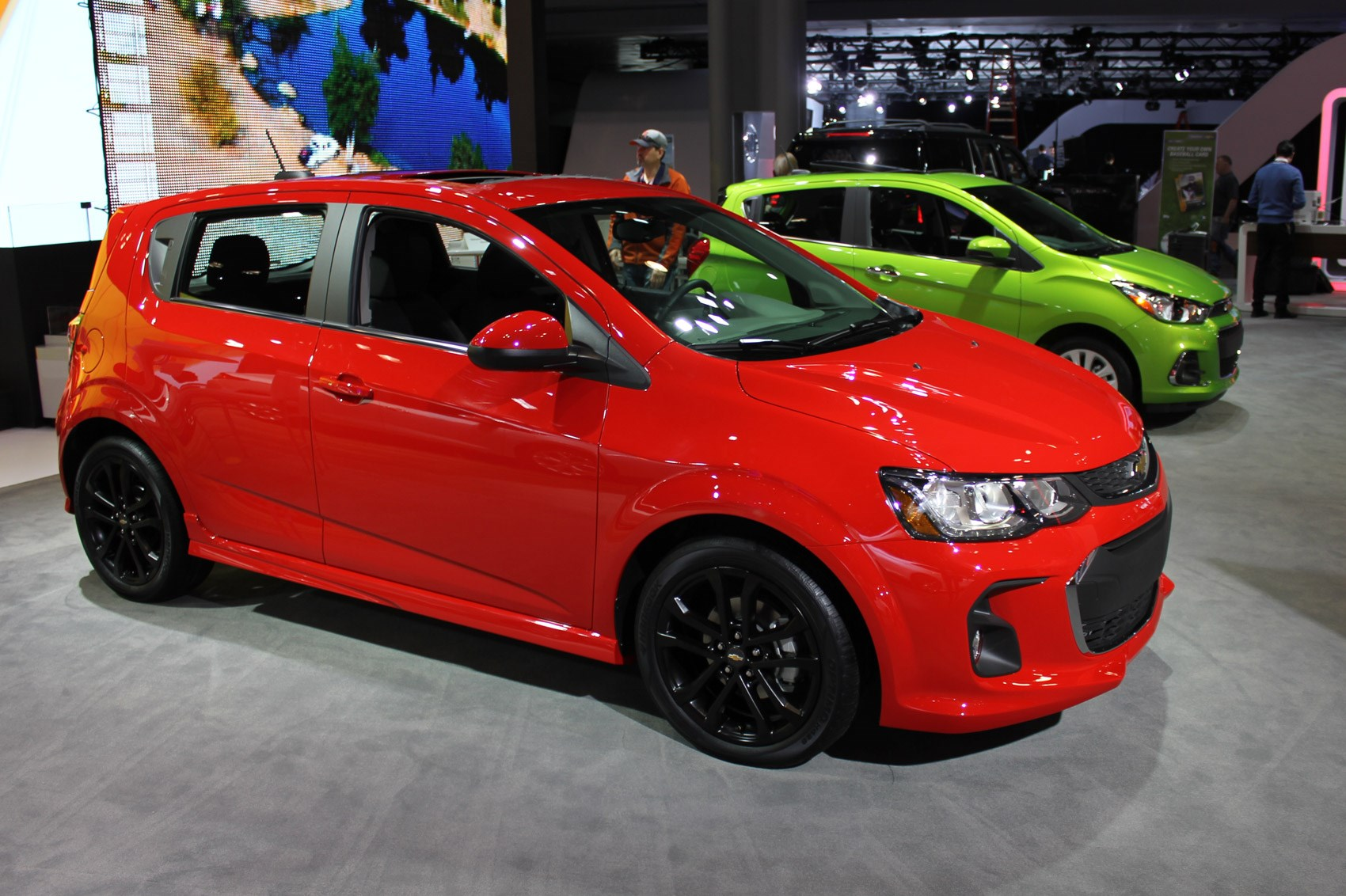 Facelifted Chevrolet Sonic Unveiled In New York By Car