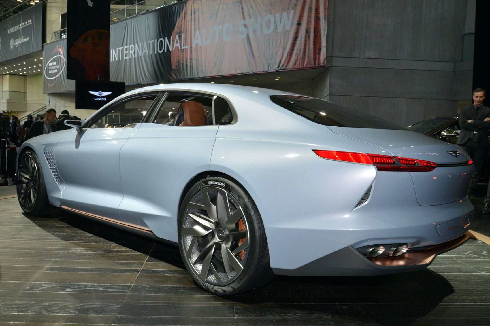 Genesis New York Concept Previews Upcoming Bmw 3 Series