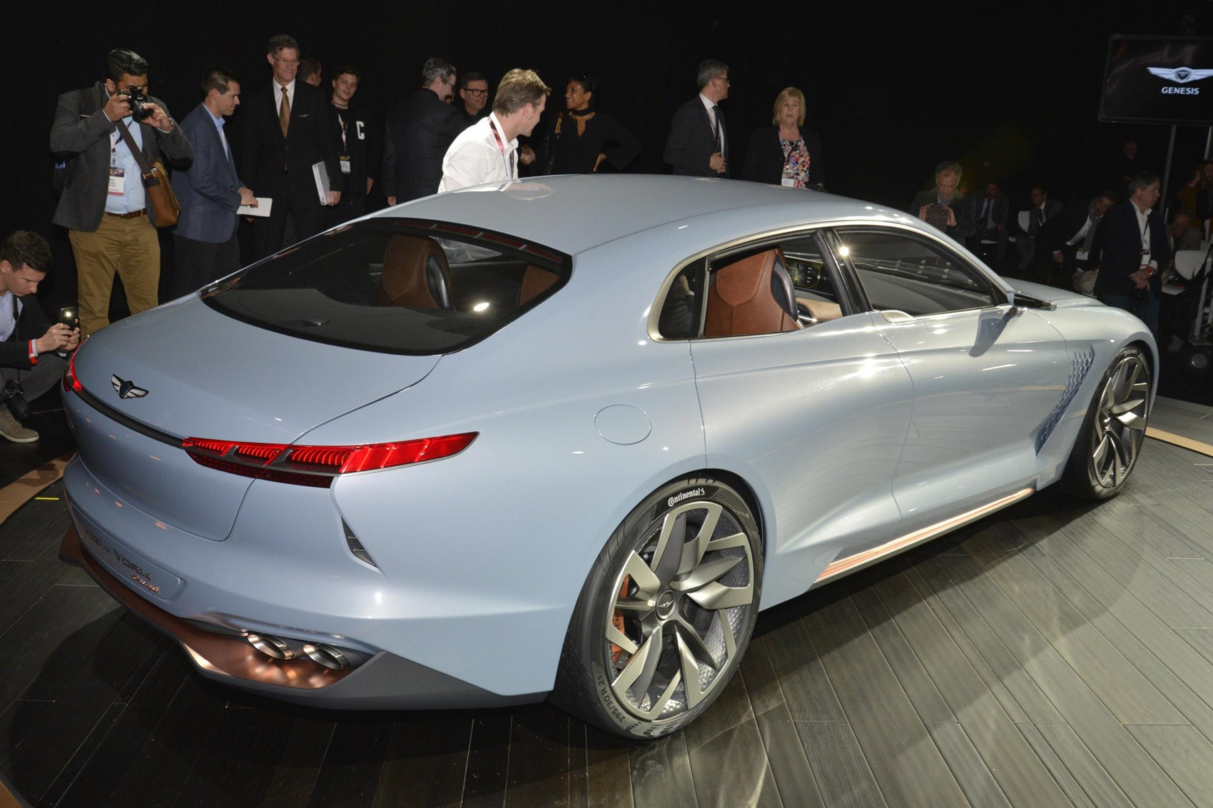 genesis 'new york concept' previews upcoming bmw 3-series rival
