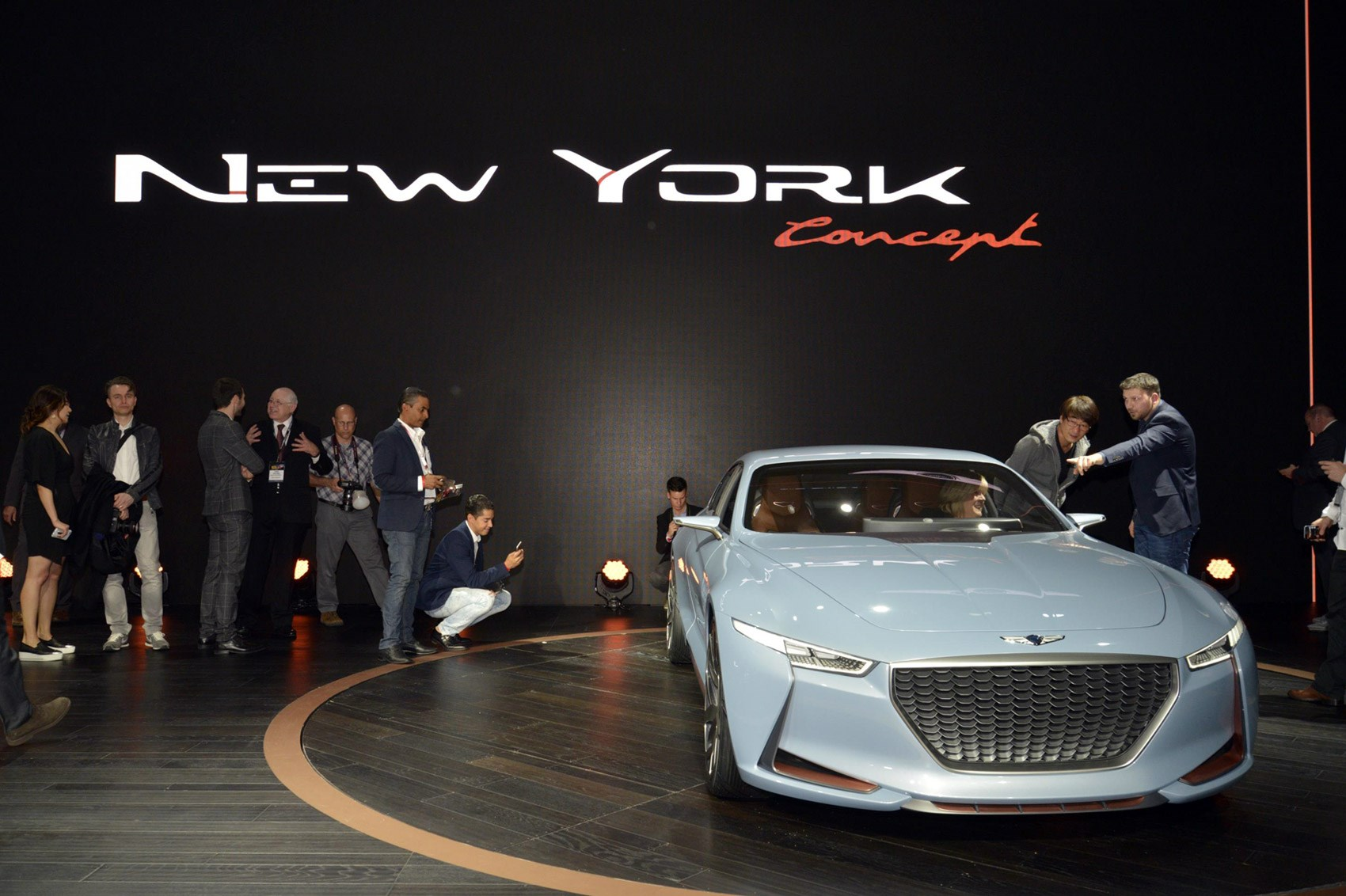 Genesis Ny Concept Future Bmw Rival: Genesis 'New York Concept' Previews Upcoming BMW 3-Series