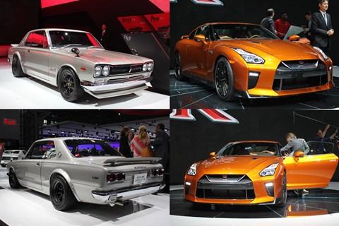 Nissan Skyline GT-R: old vs new