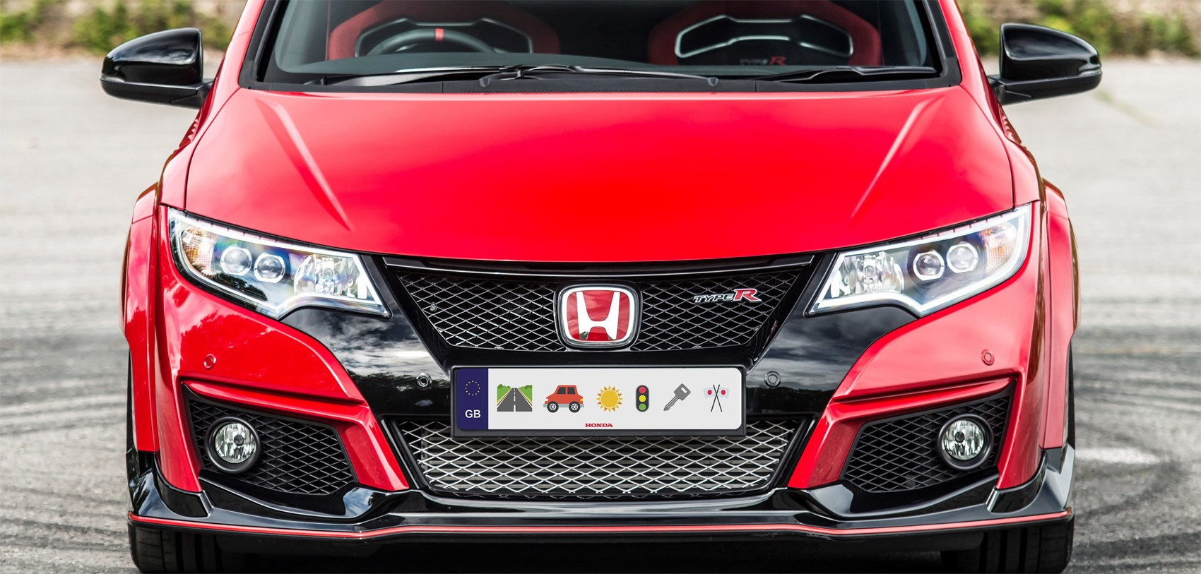 Hondas Emoji Licence Plate MGs Invisible Concept Car