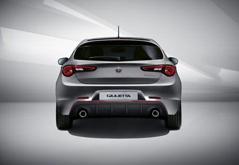 Alfa Romeo Giulietta: rear-view