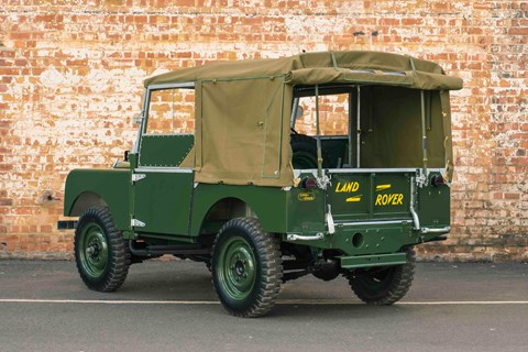 Land Rover Series 1 Reborn