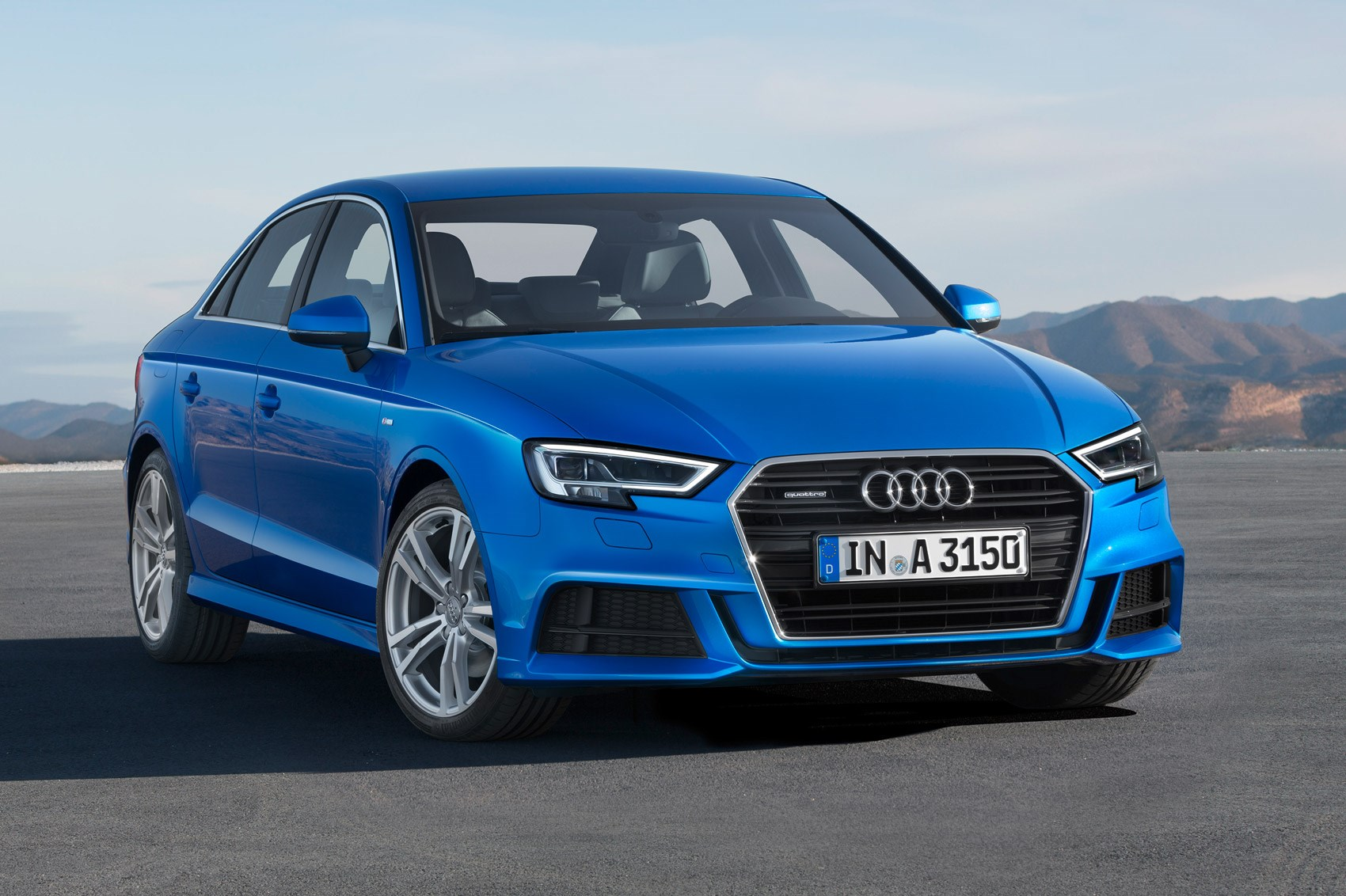 facelifted audi a3 revealed new tech kit and engines. Black Bedroom Furniture Sets. Home Design Ideas