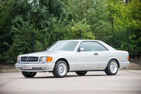 An original Mercedes-Benz 560 SEC