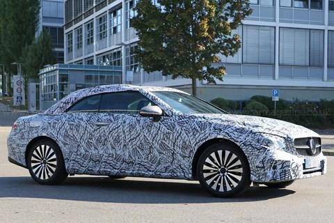 2016 Mercedes-Benz E-class Cabriolet spy shots