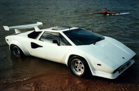 Not your average Lamborghini Countach