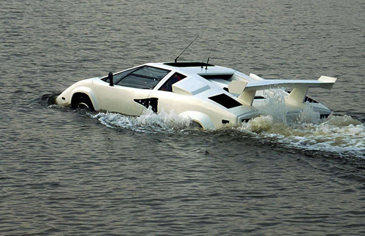 Hms Countach Amphibious Lambo Up For Sale On Ebay Car Magazine