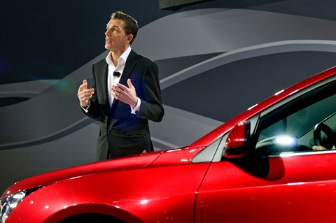 Michael Simcoe: the new chief of GM design