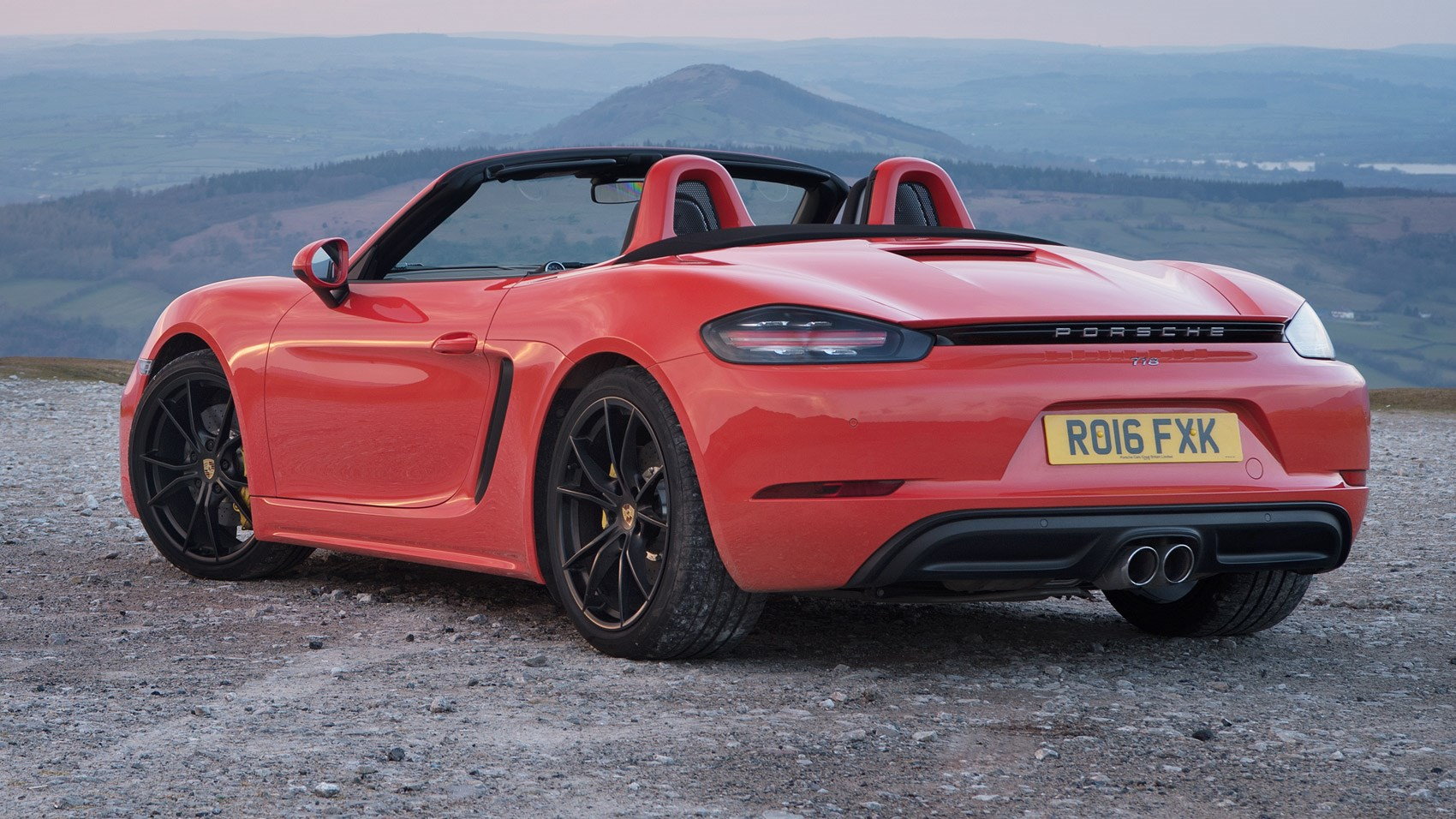 porsche 718 boxster s 2016 review by car magazine. Black Bedroom Furniture Sets. Home Design Ideas