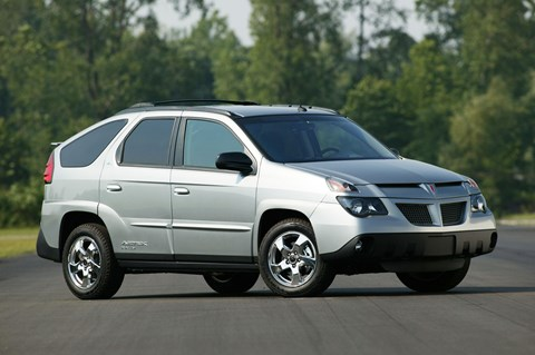 When the left hand and the right hand never met: the Pontiac Aztek