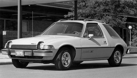 AMC Pacer: a goldfish bowl on wheels