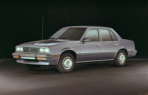 The Cadillac Cimarron... oh dear