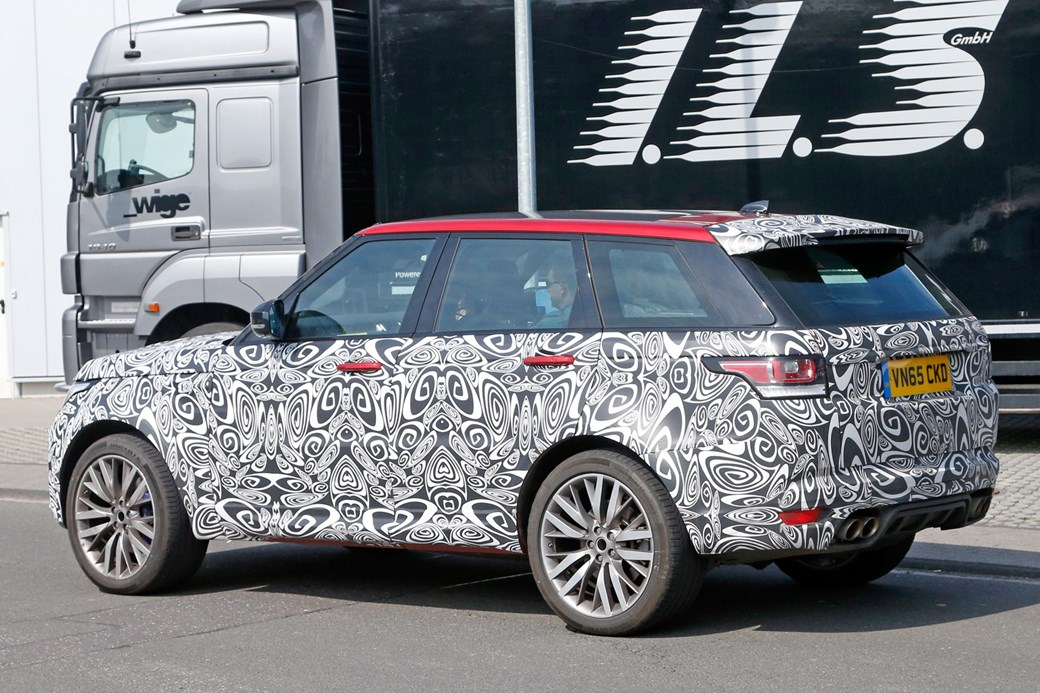 2017 Range Rover Sport Svr Spy Shots