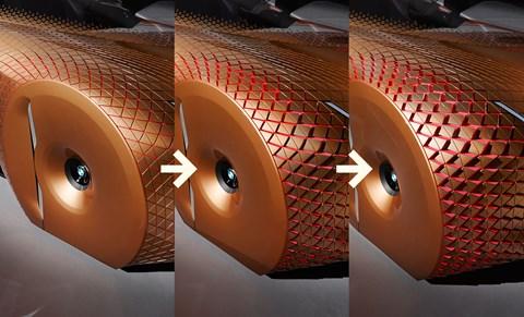 As the wheels  turn the bodywork turns too. Try polishing that!